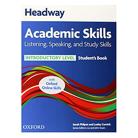 Listening, Speaking And Study Skills Student Book With Oxford Online Skills Introductory