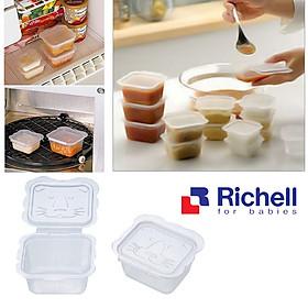 Bộ 10 Hộp Chia Thức Ăn Richell RC98106 - 50ml