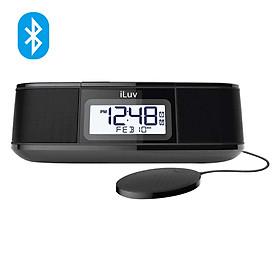 Loa Bluetooth Kiêm Đồng Hồ iLuv Time Sharker Micro (Đen) - Hàng Chính Hãng