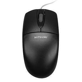 Chuột Mitsumi 6703 USB (Đen) - Hàng Chính Hãng