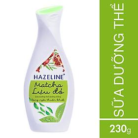 Sữa Dưỡng Thể Hazeline Dưỡng Trắng Da Matcha Lựu Đỏ 67183421 (230ml)