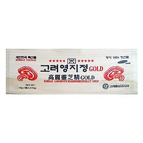 Thực Phẩm Chức Năng Cao Linh Chi Núi Hàn Quốc Hộp Gỗ Trắng Korean Sang - Rok Food (30g x 5 Hủ)