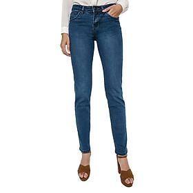 Quần Jeans AAA Jeans Ống Đứng Dài Trơn Xanh Dương SLSVT_XD
