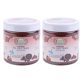 Hình đại diện sản phẩm Combo 2 Muối Tắm Spa Cà Phê Beauty Nature Coffee Spa Salt Scrub (700g / Hộp)