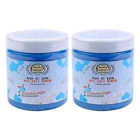Hình đại diện sản phẩm Combo 2 Muối Tắm Spa Bao Fu Ling Beauty Nature Bao Fu Ling Spa Salt Scrub (700g / Hộp)