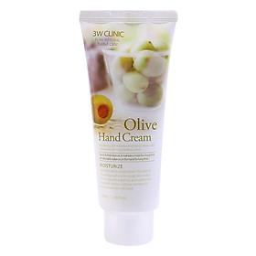 Kem Dưỡng Da Tay Hoa Quả 3W Clinic Olive (100ml)