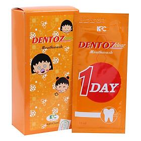 Nước Súc Miệng Dentozclear D12 (Hộp 6 Gói x 12ml)