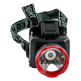 Đèn Pin Đội Đầu Cỡ Nhỏ Sunhouse SHE5012 - Đen Đỏ