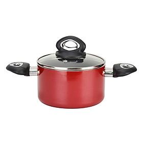 Nồi Nhôm Không Dính Đáy Từ Happy Cook Norway N20-NLA (20cm) - Đỏ