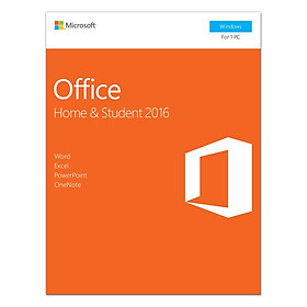 Phần Mềm Microsoft Office Home And Student 2016 Win English APAC