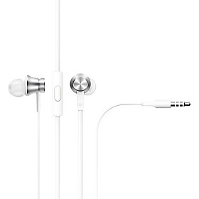 Tai Nghe Xiaomi Mi Basic - Silver - Hàng Chính Hãng