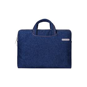 Túi Xách Laptop 12inch Cartinoe Jean Series MIVIDA032 (33 x 22 cm) - Xanh