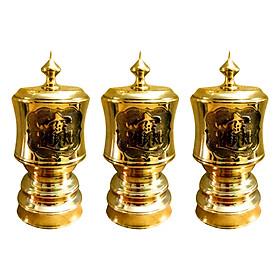 Bộ 3 Đài Nước 10 Đồng Mạ Vàng Dũng Thư