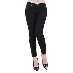Quần Jeans Nữ Skinny Trơn A91 JEANS WSKBS005BK - Đen