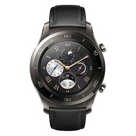 Đồng Hồ Thông Minh Huawei Watch 2 Classic (Dây Da) – Đen