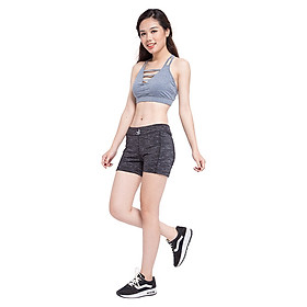 Quần Shorts Thể Thao Nữ MAXSPORT VM035 - Đen