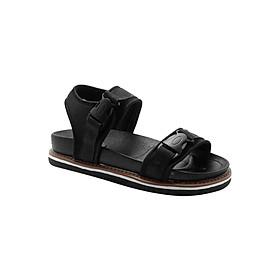 Giày Sandal Thể Thao Nữ Quai Ngang Princess PRIN20D - Đen