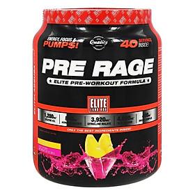 Sữa Uống Trước Khi Tập Vị Chanh Pre Workout Pre Rage Elite Labs SMEL668 (280g)