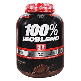 Sữa Tăng Cơ Vị Chocolate Whey Protein 100% Isoblend Elite Labs SMEL8442 (1.83kg)