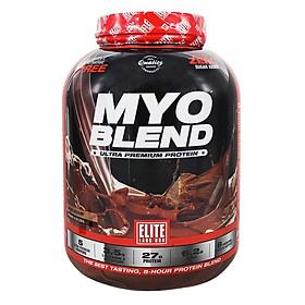 Sữa Tăng Cơ Vị Chocolate Whey Protein MyoBlend Elite Labs SMEL641 (2kg)