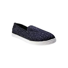 Giày Slip On Nữ ShopNCC 124X - Xám Đậm