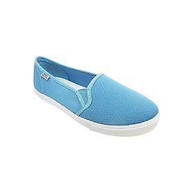 Giày Slip On Nữ D&A L1707 - Xanh Nhạt
