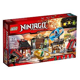 Mô Hình Lego Ninja Go - Đấu Trường Ninja 70590 (666 Mảnh Ghép)