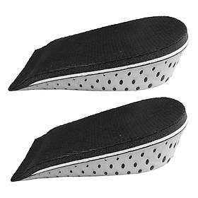 Lót Giày Tăng Chiều Cao EVA Nửa Bàn Cao Winwinshop88 (3.3 cm) - Xám