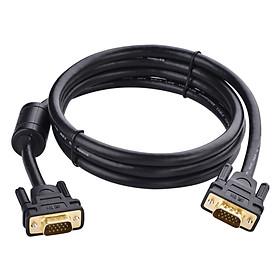 Cáp VGA Male To Male Ugreen VG101 11634 (15m) - Đen - Hàng Chính Hãng