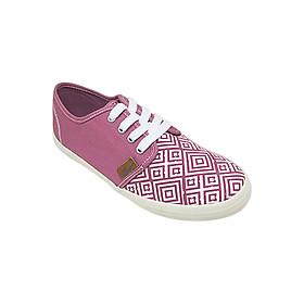 Giày Sneaker Nữ Buộc Dây D&A L1605 - Hồng