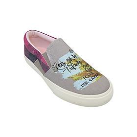 Giày Slip On Nữ Urban UL1602M - Màu Kaki