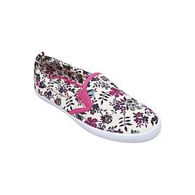 Giày Slip On Nữ In Hoa Hồng Urban UL1605RF