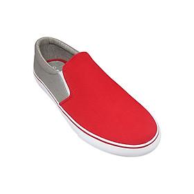 Giày Slip On Nữ Urban UL1705 - Đỏ Ghi