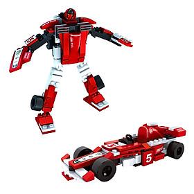 Bộ Robot Biến Hình 2 Trong 1 Ausini 25423 (132 Mảnh Ghép)