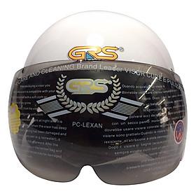 Mũ Bảo Hiểm GRS A08K - Trắng
