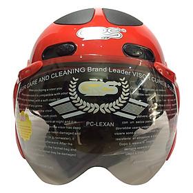 Mũ Bảo Hiểm GRS A102K - Đỏ Line Đen