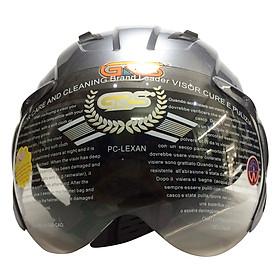 Mũ Bảo Hiểm GRS A737K - Xám Bóng