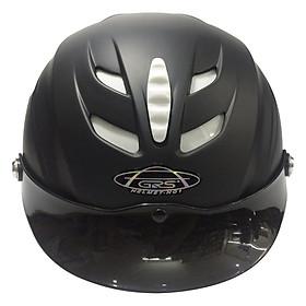 Mũ Bảo Hiểm GRS A760 - Đen Nhám
