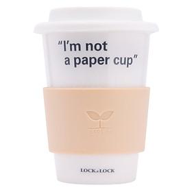 Ly Sứ Nắp Silicon Eco Mug Cup Lock&Lock SLB003 (370ml)