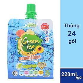 Hình đại diện sản phẩm Thùng 24 Gói Trà Đào Origina (220ml / Gói)