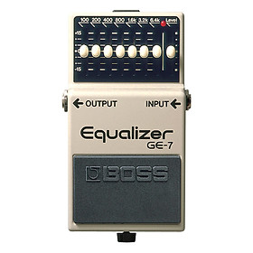 Phơ Guitar Boss Equalizer GE-7 (Bàn Đạp Fuzz Pedals Effects)