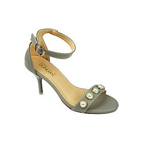 Giày Cao Gót Sunday Shoes CG29 - Xám