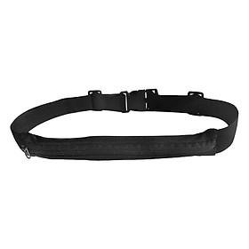 Túi Đeo Bụng Đa Năng 1 Ngăn POPO Sports Run-Belt-1-Black - Đen