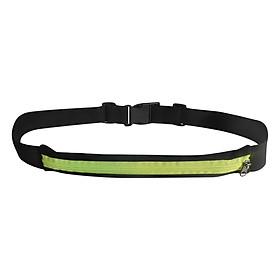 Túi Đeo Bụng Đa Năng 1 Ngăn Popo Sports Run-Belt-1-Green - Xanh Lá