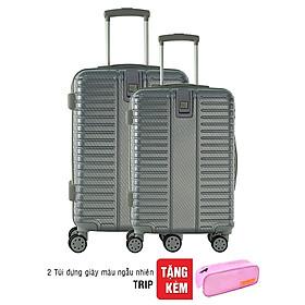 "Combo 2 Vali Du Lịch Cao Cấp Trip PC057 20"" - 26"