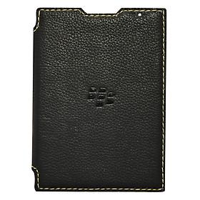 Bao Da Mộc Dạng Cầm Tay Gập DTR Blackberry Passport Silver - Đen - Hàng nhập khẩu