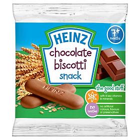 Bánh Qui Dành Cho Trẻ Biscotti Heinz Vị Sô-Cô-La (60g x 12 Gói)