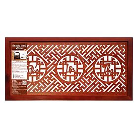 Tấm Chống Ám Khói Hương Mộc Linh Size L TCAKLN (41 x 81 cm) - Nâu