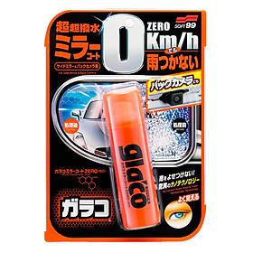 Phủ Nano Kính Chiếu Hậu Dạng Xịt Glaco Mirror Coat Zero Soft99 VC-ADR-01 (40ml)