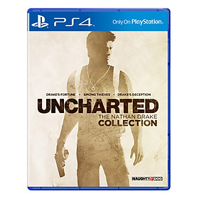 Đĩa Game Sony PS4 - Uncharted: The Nathan Drake Collection - Hàng Nhập Khẩu